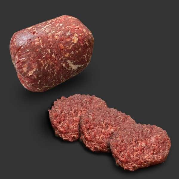 Burgerbrät vom Reh und Wildschwein